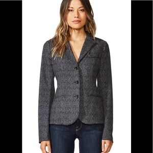 bailey 44 Black Op Brushed Blazer in Anthracite Xs